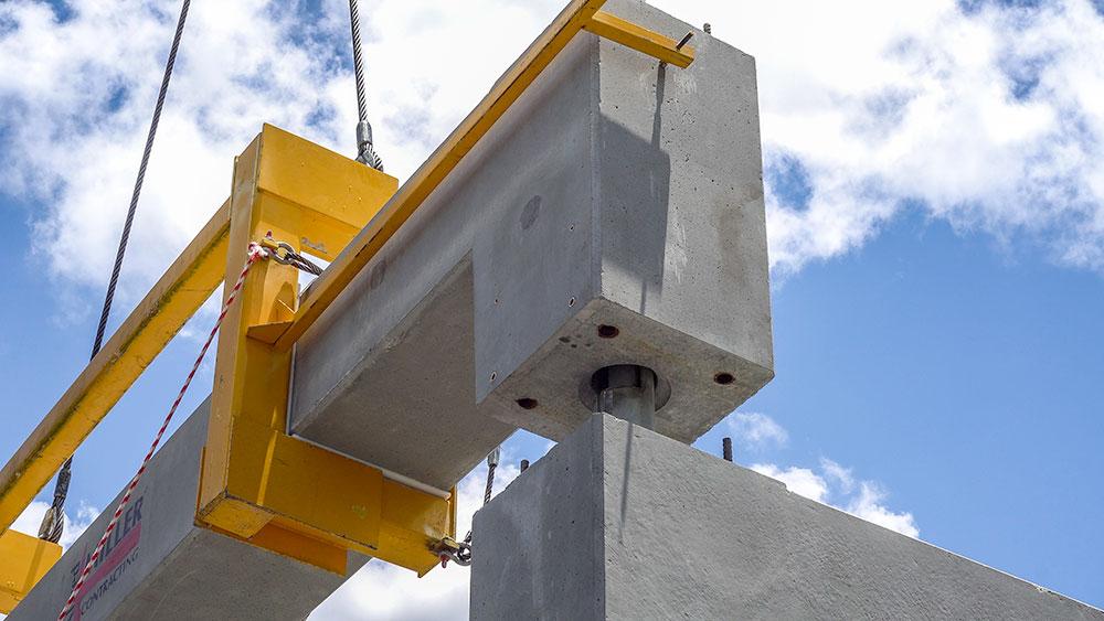 Precast Concrete Pipe Racks | Alfred Miller Contracting