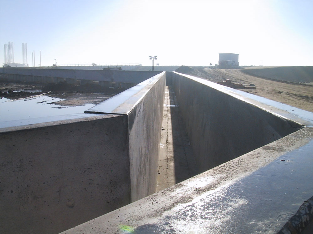 Precast Concrete LNG Containment Trenches | Alfred Miller Contracting